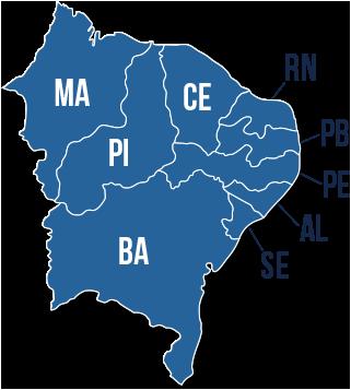 Mundano Bar em São Paulo Mapa Nordeste